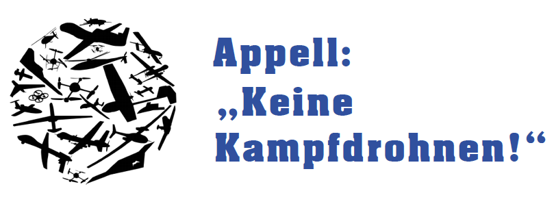 """Apell: """"Keine Kampfdrohnen!"""""""