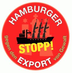 Hamburger gegen den Export von Gewalt